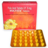 Folic Acid (Folvite)
