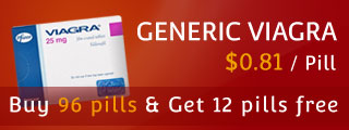 BUY 96 Pills of Generic Viagra and GET 12 Pills FREE